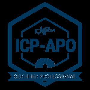 Includes ICAgile APO accreditation