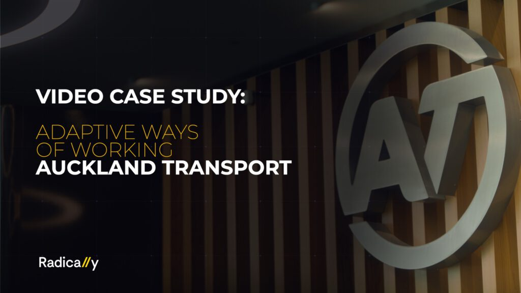 Adaptive Ways of Working at Auckland Transport